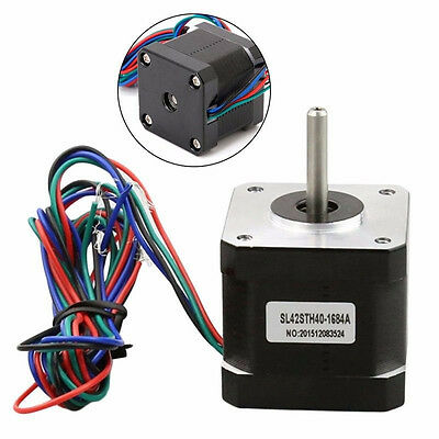 High Precision 42 Stepper Motor 4-Wire 40Ncm 40mm 1.8° for 3D Printer CNC Robot
