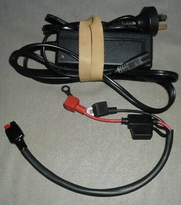 Charger For Golf Buggy. Anderson Pole Plug & Lead. Cp1240 12V 1.5A