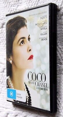 Coco Avant Chanel (DVD, 2010)REGION-4, LIKE NEW, FREE POST WITHIN AUSTRALIA