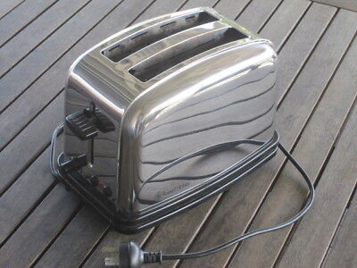 RUSSELL HOBBS TOASTER, stainless steel, EXCELLENT CONDITION NR