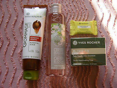 Lot Yves Rocher gel douche gommage soin hydratant neuf