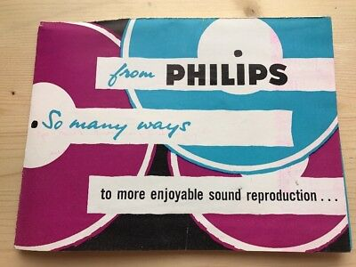 Philips Record Player Leaflet - L61