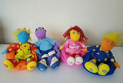 The Tweenies x 4 with Detachable Bean Bags  Soft Toy..