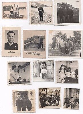 Family Photos Chinese Cultural Revolution Snapshots China Vintage 1960S