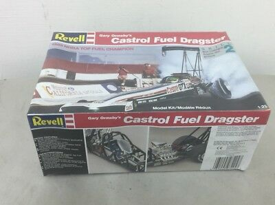 Revell 1/25 Castrol Fuel Dragster GARY ORMSBY