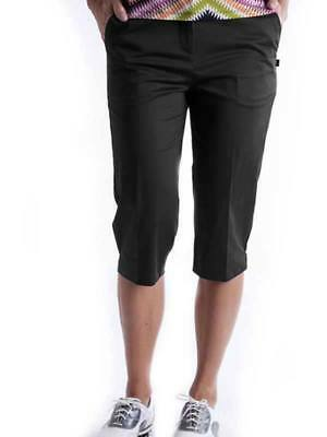 Birdee Golf Ladies Slide On Short - Black