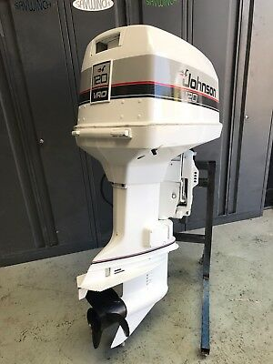 120hp  Johnson / Evinrude Outboard Motor (Freight Australia Wide)