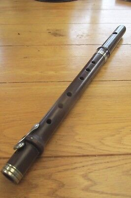 Vintage Rosewood Flute by Hawkes of London - For Restoration (Ref 80)