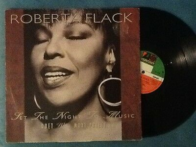 Set The Night To Music  Roberta Flack and maxi priest Vinyl Record 4 track 12""