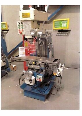 Steelmaster Milling Machine -- 240V -- only 200 hours