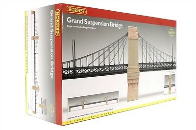 Hornby Grand Suspension Bridge ** Model Trains OO Scale - Suit HO - #R8008