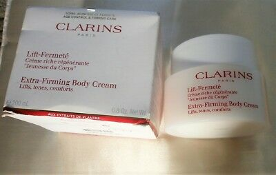Clarins Extra Firming Body Cream 200ml Womens Skin Care NEW BOXED
