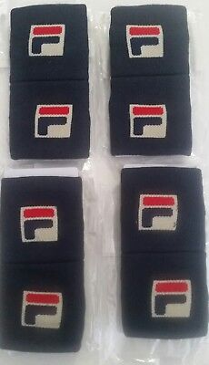 Fila wristbands 4packs of 2 (8 total)