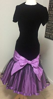Vintage 80's PROM dress PARTY cocktail HENS bridesmaid FORMAL