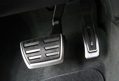 Gas Fuel Brake Pedal Cover Trim For AUDI A4 S4 RS4 A5 A6 C7 Q5 S5 RS5 A7