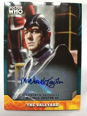 Topps Dr Who Signature Series Michael Jayston As The Valeyard Autograph Card