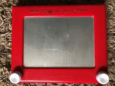 Vintage Magic Etch a Sketch Screen Toy