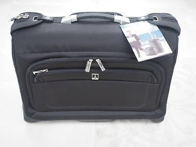 Travelpro Crew 8 Black Carry-on Wheeled Rolling Garment Bag suit carrier. NWT