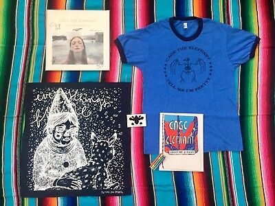Cage The Elephant // Tell Me I'm Pretty / SIGNED Clear Vinyl Deluxe Bundle Lot