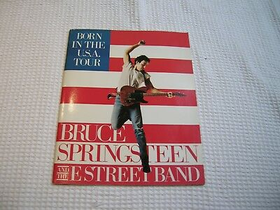 Bruce Springsteen Born in the USA  - Tour Programme 1984