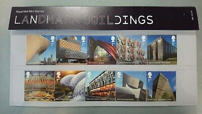 Royal Mail Mint, Landmark Buildings Special Stamps,
