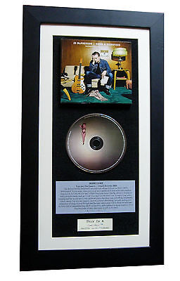 JD McPHERSON Signs Signifiers CLASSIC CD TOP QUALITY FRAMED+EXPRESS GLOBAL SHIP
