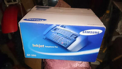 Samsung SF-360 Inkjet Telephone Fax -- Brand new boxed with sealed contents