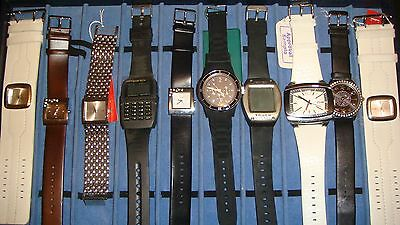 Trade Only Job Lot Of 10 X  Mixed Names  Watches 100% Gen <</