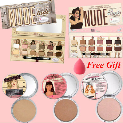 The Balm Warm Matte Nude Eyeshadow Palette Mary Betty Cindy Palette Makeup
