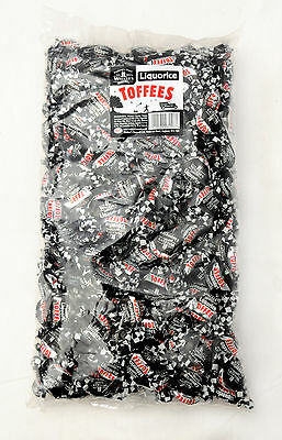 Liquorice Toffees (Walkers Nonsuch) 2.5Kg