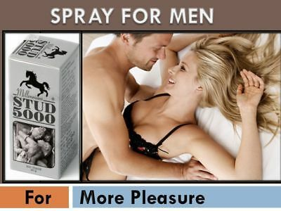 Buy 3 Get 1 Free STUD 5000 Spray For Mens 20ml/Pack Fresh Fast Discreet Shipping