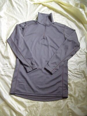 French Army Green base layer Biactive moisture wicking top FREE POSTAGE ! !