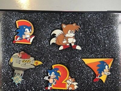 Sonic Hedgehog Badges