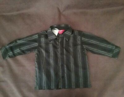 Shirt size 1 boys baby boy long sleeve t 2 button up