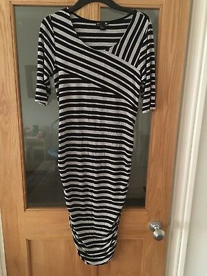 H&M Maternity Striped Tube Dress Size M (medium)