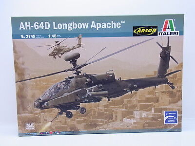 "LOT 47671 | Italeri No 2748 ""AH-64D Longbow Apache"" 1:48 Bausatz NEU in OVP"