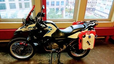 2012 BMW G650gs SERTAO ABS  2012 BMW G650GS Sertao ABS Dual Sport Motorcycle Prepper Adventure Loaded KLR650