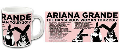 Pop Star Ariana Grande The Dangerous Woman Tour 2017 Printed Mug Top Quality