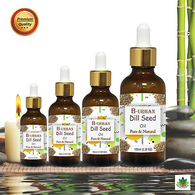 Dill Seed Oil (Anethum Graveolens) 100% Natural Pure Essential Oil 15ml - 1000ml