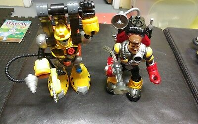 Fisher Price Rescue Heros lot of 2