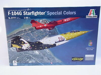 LOT 46034 Italeri No 2777 F-104G Starfighter Special Colour 1:48 Bausatz NEU OVP