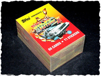 Back to the Future - Part II - Complete Card Set (88/11) - 1989 Topps - NM