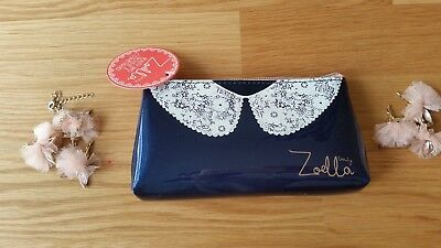 Zoella Beauty Lace Collar Makeup Purse Case Bag
