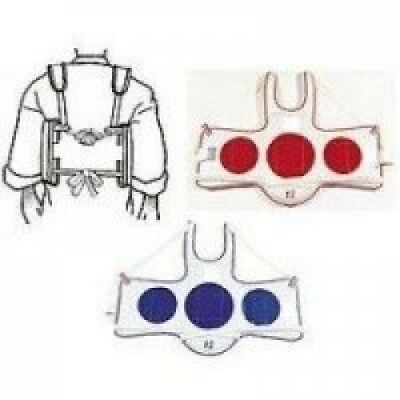(CHS) - Tie Chest Guard. Martial Arts Land. Shipping Included