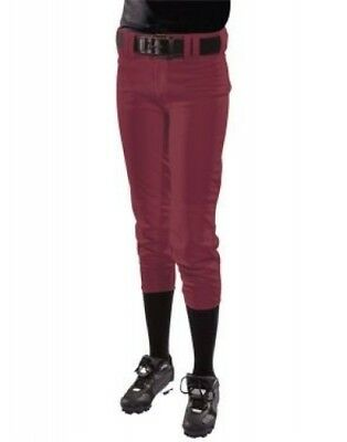 (XX-Small, Maroon) - Women's Low Rise Polyester Pant. Teamwork. Huge Saving