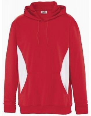 (Large, Scarlet/White) - Youth Newcastle Performance Hoodie. Teamwork. Brand New