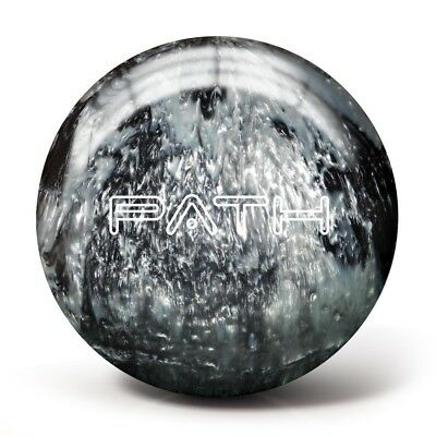(4.5kg, Black/Silver) - Pyramid Path Bowling Ball. Shipping Included