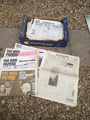 wartime news papers..
