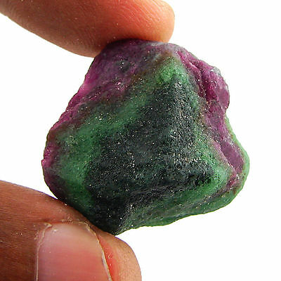75.00 Ct Natural Ruby Zoisite / Anyolite Loose Gemstone Rough Specimen - 10100