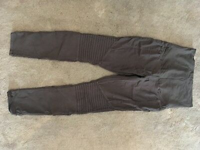 H&M Grey Maternity Over Bump Skinny Jeans Size 14